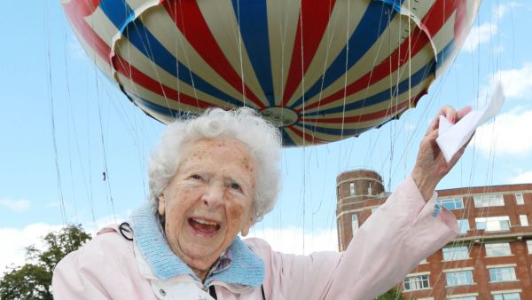 Three wishes come true HEAD FOR HEIGHTS: 104-year-old Joan Mackay fulfilled a lifetime's ambition to ride in a balloon when she visited the Bournemouth attraction... read article...