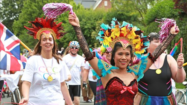 Samba Spectacular Fun in the sun: Team Colten at the Lymington Carnival... read article...