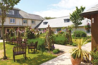 Belmore Lodge, winner of our annual in-house gardening competition