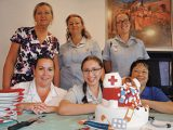 Our hard-working nurses enjoyed a little pampering on a special celebration day in May.