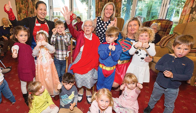 Durlston Court Prep School pupils having 'super' fun at Kingfishers.