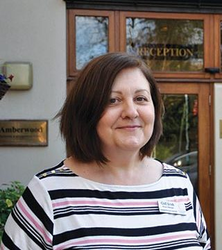 Gill Irish, the new Home Manager at Amberwood House in Ferndown