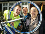 £600 thank you for cycle charity which takes residents out