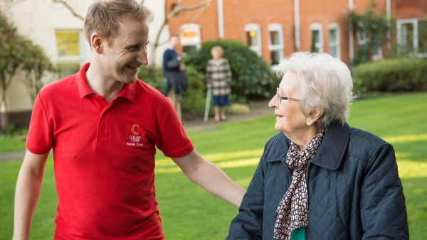 'Colten Companions' perform a vital role 'Colten Companions' sums up the focus on providing essential company and gentle, appropriate camaraderie for individual residents.... read article...