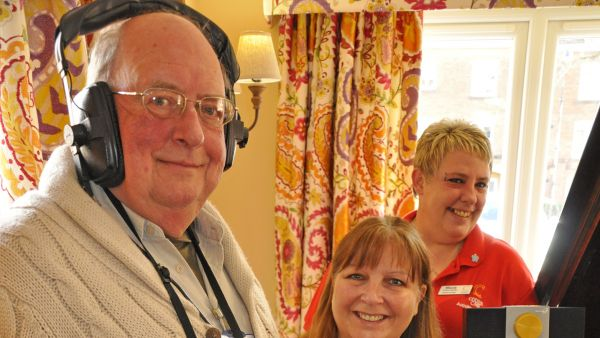 Residents are tuning into care home radio New partnership brings favourite music to their ears through dedicated podcasts... read article...