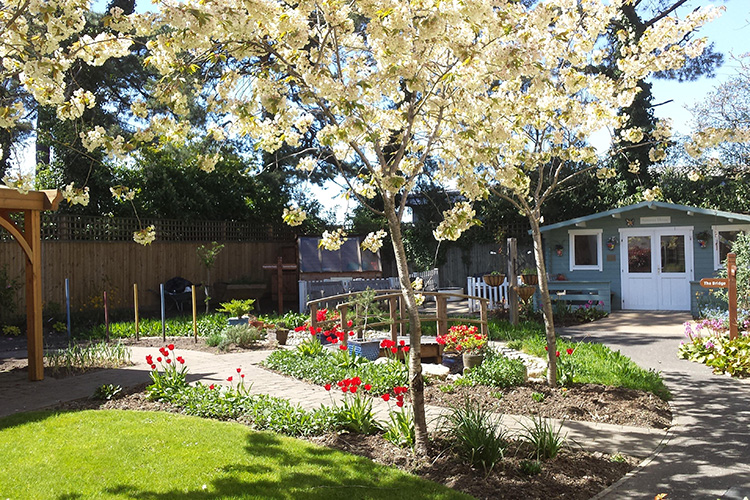 MAY: Glorious blossom at our competition-winning home, The Aldbury