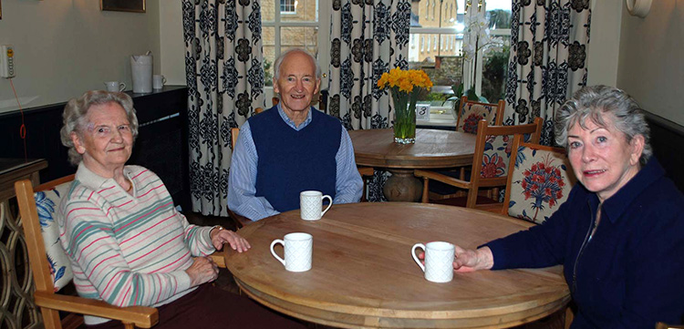 CELEBRITY VISITOR: Valerie Singleton gives monthly talks at Abbey View