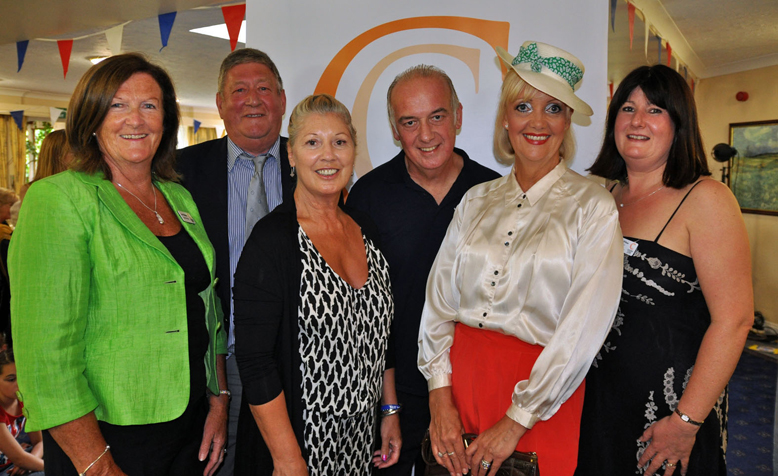 All dressed up at a vintage fashion show held at Canford Chase, raising £1,500 for the Youth Cancer Trust
