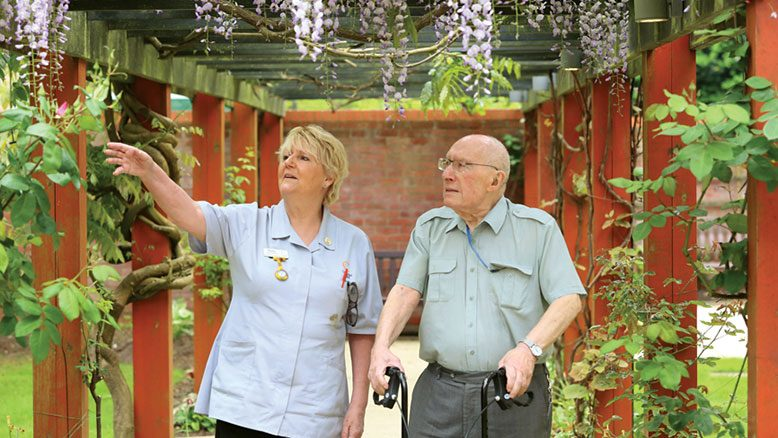 Survey results are in… RECOMMENDED. Resident Peter Butler, pictured with RGN Barbie Brierley at Amberwood House in Ferndown, is among those who gave their thoughts on care home life in a new film we have produced.... read article...