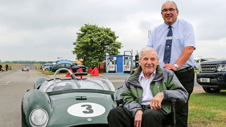 Making wishes come true We make residents feel special through regular, personal 'My Time 'sessions, where we do our best to make residents' wishes happen for them – like racing fan Ken's trip to Thruxton.... read article...