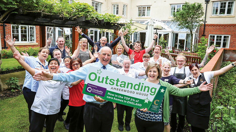 High five! Amberwood House makes for an Outstanding quintet... read article...