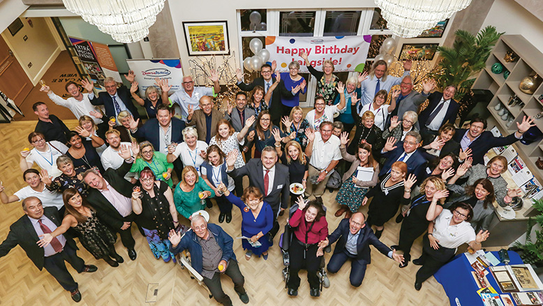 ANNIVERSARY: We opened up our Bourne View home to host the celebrations for the 60th birthday of Langside School next door