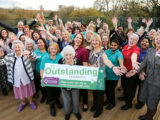 Our latest home rated Outstanding celebrates in style