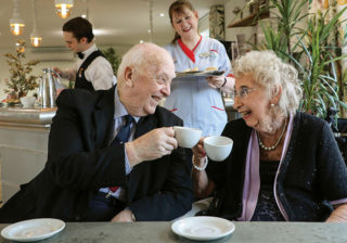 Tea and Togetherness event at Bourne View care home in Poole.