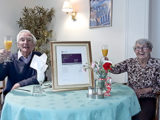 Celebrating success - a toast to Kingfishers in New Milton as its Outstanding rating is retained