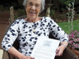 Residents' delight at letter from Dame Vera Lynn after birthday greeting