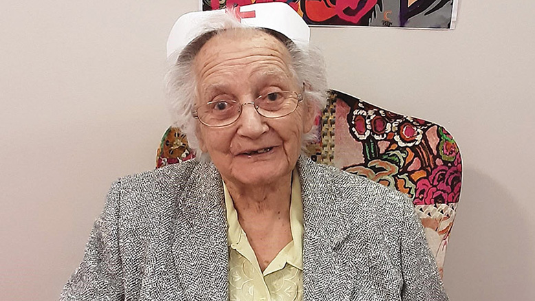 """Celebrating our nursing heroes Former nurse Dorothy Sage, who lives at our Outstanding-rated Kingfishers home in New Milton, was only too glad to take part in this year's International Nurses Day, saying: """"Nursing is a noble profession. The dedication to your duties always has to be outstanding. If I could choose my career all over again it would still be nursing.""""... read article..."""