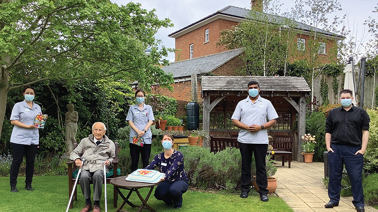 Nurses Day was also marked at Abbey View